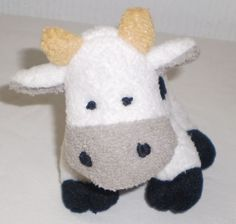 Cow & Gate Official Merchandise Soft Toy Beanie Cow Collectable