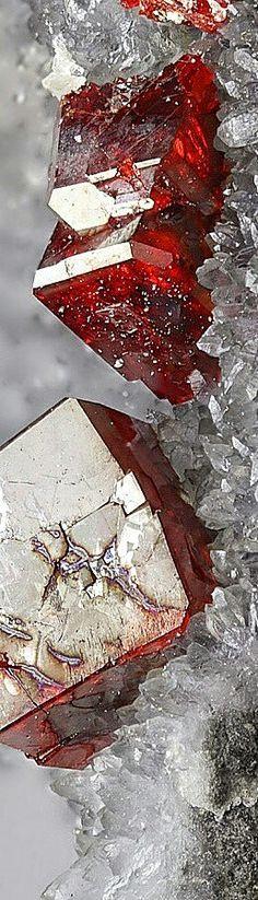 Galkhaite Getchell Mine, Adam Peak, Potosi District, Osgood Mts, Humboldt Co., Nevada, USA Source: mindat.org
