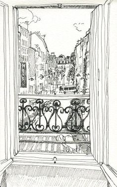Architectural Sketches 545850417316369832 - Street King of Algiers, Paris 18th Source by noellite