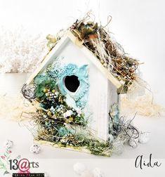 altered bird house by Ayeeda