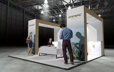 x Modular Exhibition Stand – 1 Slat Wall, Exhibition Stands, Stand Design, Booth Design