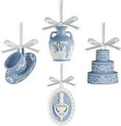 Simply stunning teacup baubles from Wedgwood