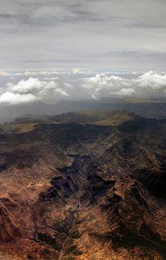 Ethiopia, Plane Window View // Flickr by mariusz kluzniak