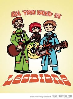 The Beatles & Scott Pilgrim?!?!