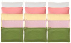 New colors! I'll take one of each please. American Apparel Carry all pouch