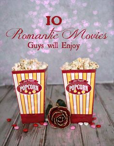 10 Romantic Movies Guys Will Enjoy - Guys want a romance movie that has comedy or action, not a tear jerker!  Here are 10 romantic movies you can both enjoy watching.