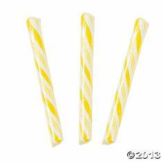Yellow Candy Sticks