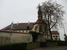 Františkánský klášter Čtrnácti sv.pomocníků - Kadaň