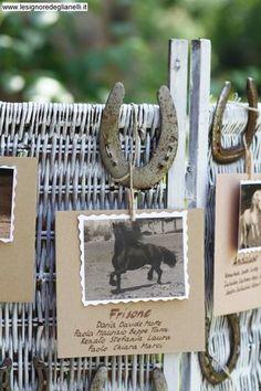 idea tableau country con ferro di cavallo