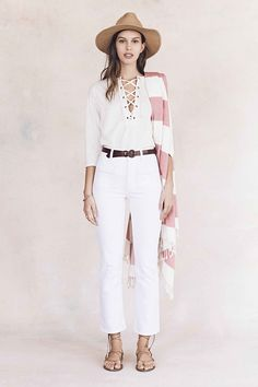 Honestly, we couldn't be more juiced about Madewell's spring collection - the first collection under the brand's new head of design, Joyce Lee. Ruffled blouses and embroidered dresses inspired by travels to Mexico and Morocco pull at our globetrotting heartstrings. And vintage cut denim will surely