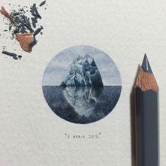 Incríveis micro desenhos na ponta do lápis