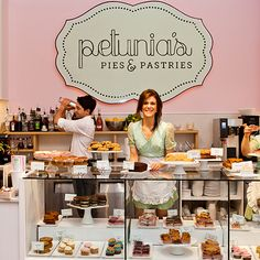 Petunia's Bakery- Portland Oregon, Don't take its adorable name too literally––Petunia's offers more than just pies and pastries. With a menu full of sandwiches, soups, and salad––plus wine, signature cocktails, and coffee––this is our kind of bakery! Gluten Free and Vegan!