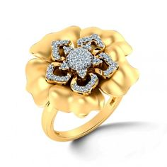 Hibiscus Floral Ring