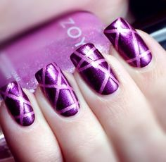 Zoya nail art design..
