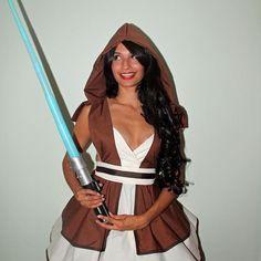 Cutie Wan Kenobi Jedi Pinafore