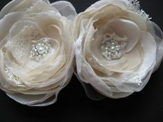 Bridal+hair+flower+Wedding+Accessory+hairpiece+by+LeFlowers,+$39.00