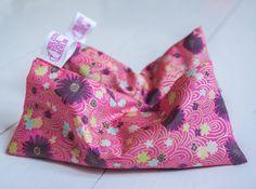 Handmade Japanese Silk Organic Lavender Eye Pillow