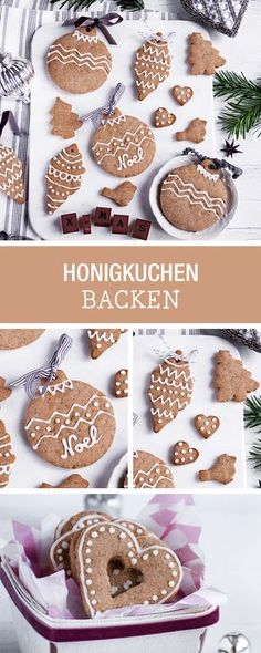 Traditionelles Weihnachtsgebäck: Honigkuchen backen / traditional christmas cookies: honey cake via DaWanda.com