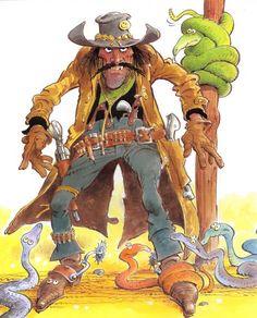 Academy of Art Character and Creature Design Notes: Mort Drucker Comic Book Artists, Comic Artist, Character Drawing, Character Design, Baby Disney Characters, Cowboy Art, Country Art, American Comics, Western Art