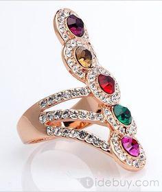<3<3<3<3 Jako elegantan prsten od dijamanta i sdragod kamenja.....
