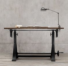 1910 American Trestle Drafting Table