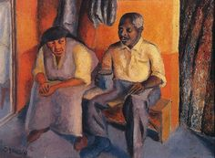 In pictures: Gerard Sekoto - father of South Africa's modern art - BBC News Gerard Sekoto, South Africa Art, South African Artists, Art Competitions, Art Database, Classical Art, Art For Art Sake, Black Art, Art And Architecture