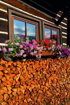 Bad Kleinkirchheim is a municipality in Spittal an der Drau, Carinthia, Austria Places To Travel, Places To See, Swiss House, Carinthia, Serbian, Alps, Firewood, Austria, Windows