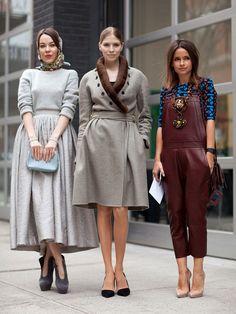 the Russian fashionistas