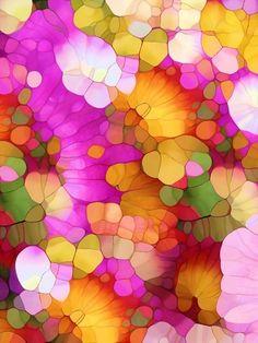 Happy Colors - Soul Vitamins - a mini art print by Joke Vermeer