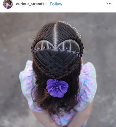 Girly Hairstyles, Braided Hairstyles, Peinado Updo, Hair Dos, New Hair, Bridal Hair, My Girl, Braids, Hair Beauty
