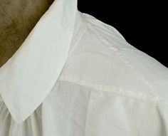 Shirt, Shoulder detail, love the narrowing g at sleeve point to prevent bulk