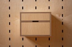 two drawers