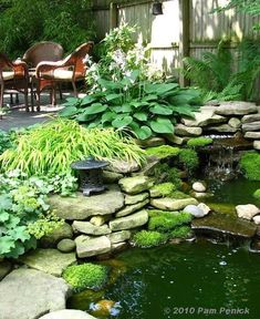 Stunning Garden Pond Waterfall Design Ideas atemberaubende Garten Teich Wasserfall Design-Ideen Related posts: No related posts. Backyard Water Feature, Ponds Backyard, Backyard Waterfalls, Ponds With Waterfalls, Backyard Ideas, Pond Design, Landscape Design, Landscape Plans, Garden Waterfall