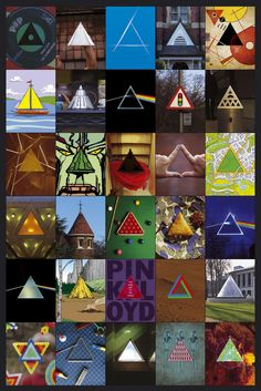 Pink Floyd - DSOTM 30th anniversary art print signed and numbered in pencil by Storm Thorgerson