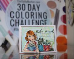 The Daily Marker 30 Day Coloring Challenge Blog Hop!