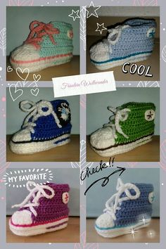 Babyturnschuh * Baby * shoes * gehäkelt * crochet  https://www.facebook.com/fraeuleinwollwunder