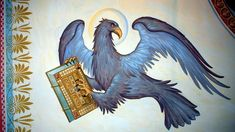 Orthodox Icons, Fresco, Rooster, Animals, Detail, Fresh, Animales, Animaux, Animal
