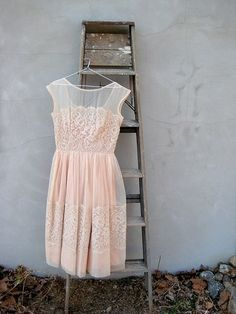 blush pink bridesmaid dress. | Fashion