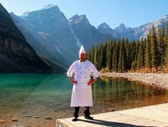 Moraine Lake Lodge: Located in Banff National Park, Moraine Lake Lodge Chef Steven Lay's menu exhibits the ingredients of the region…buffalo, venison, B. salmon and Alberta beef! Moraine Lake, Banff National Park, Venison, Workplace, Buffalo, Salmon, Restaurants, Menu, Places