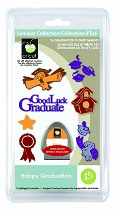 Cricut Happy Graduation Seasonal Cartridge Review