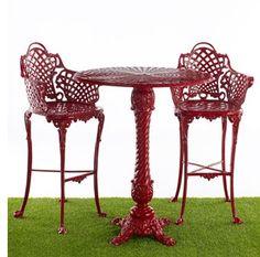 basketweave patio furniture