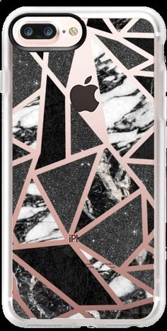 Casetify iPhone 7 Plus Case and iPhone 7 Cases. Other Pattern iPhone Covers - Chic Modern BW by BlackStrawberry | Casetify