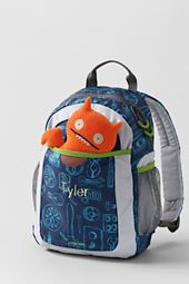 12. Kids' My First Gadgets Print Backpack from Lands' End. This backpack is super fun and cute and I love hat it is made for toddlers/preschoolers. My little guys need a bag too! #momselect #backtoschool