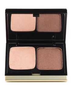 Th color on the right is the perfect contour shade for green and hazel eyes. Kevyn Aucoin Eye Shadow Duo, Palette 210