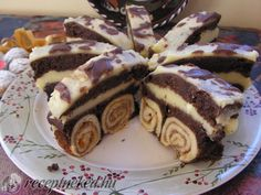 Hungarian Desserts, Hungarian Recipes, My Recipes, Cookie Recipes, Dessert Recipes, Sweet And Salty, Cakes And More, Cake Cookies, Nutella