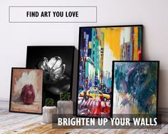 Find Art You Love, and enjoy 10% OFF all art and FREE DELIVERY this weekend.  Find beautiful paintings and photography from British and International artists to add vibrancy and colour to your home interiors. Receive an original artwork handmade and delivered directly to your door, with a certificate of authenticity so you can enjoy authentic artwork for years to come. Click to visit FineArtSeen l The Home Of Original Art l now to shop the collection.  << Discover Now >>
