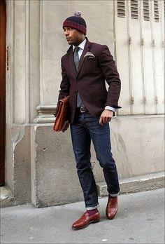 Gentleman style Haberdash Urban Fashion Street Culture Holdingco PacNW