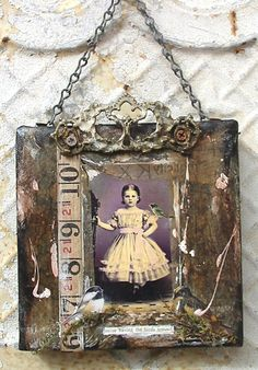 Altered Art   very cool do with tiles from hardware store I say I will try that 1.2013