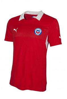 Chile (Federación de Fútbol de Chile) - 2012/2013 Puma Home Shirt