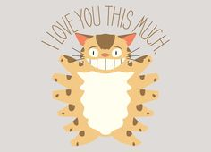 Check out the design I Love You This Much! by Jonathan Dockery on Threadless